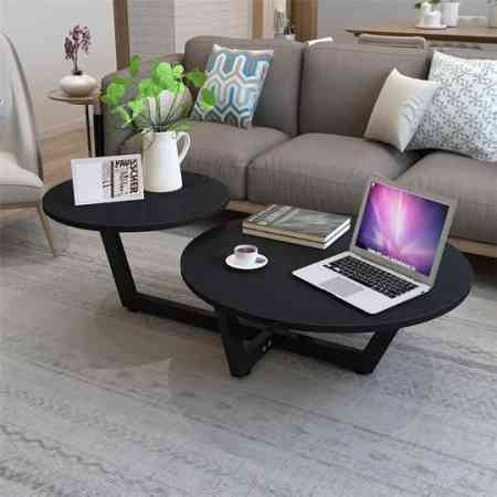 Nordic coffee table modern minimalist living room small apartment mini European creative personality coffee table simple round table
