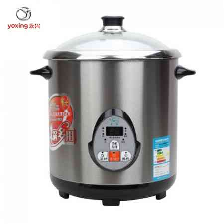 Yongxing DYG-20AF stainless steel large-capacity multi-purpose pot Electric cooker Electric soup pot rice cooker Ceramic water stew