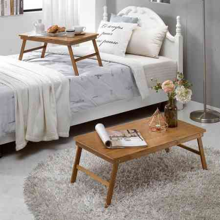 RUICHANG bed solid wood computer table lazy folding table dormitory bay window table study table tray tatami