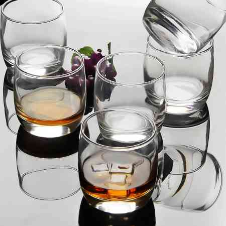 Le Meiya bow and arrow 6 Pack round whiskey glass wine glass glass beer glass spirit glass cup