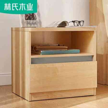 Creative drawer bedside table table wood color simple economic locker small apartment modern bedroom BR2B