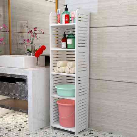 Bathroom shelf bathroom washbasin washroom washbasin toilet floor-standing multi-layer storage rack storage rack