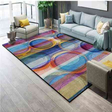 Northern European simple modern American living room carpet sofa coffee table mat bed side blanket bedroom full shop washing custom