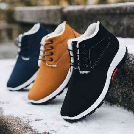 Autumn and winter new men's shoes