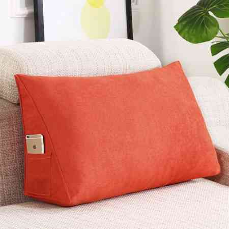 Home pillow cushions Living room sofa back cushion Triangle cushion waist pillows Bay window waist pillows removable and washable