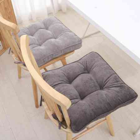 Winter cushion padded office cushions female student dormitory classroom chair stool mat home machine washable dining chair cushion