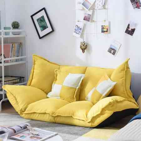 IKEA lazy sofa room small sofa net red single bedroom cute girl living room small household flagship