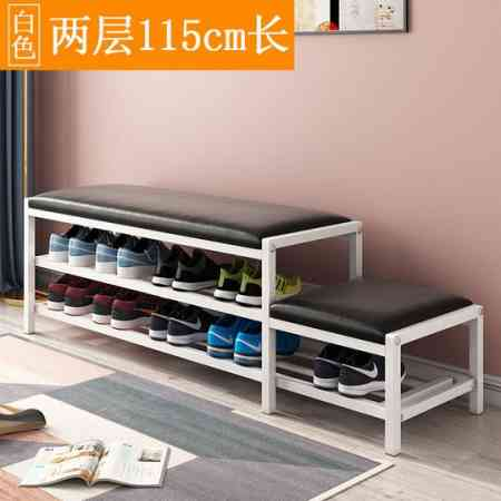 Change shoes stool Shoe cabinet parent-child shoes shelf simple home simple modern door storage can sit shoes stool multifunctional