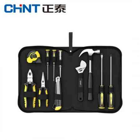 Chint Oxford cloth hardware repair kit home combination electrician woodworking decoration multi-function hand tools