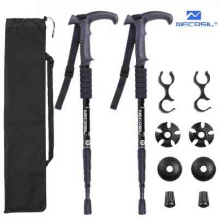 2pcs Trekking poles walking stick hiking cane Trekking poles