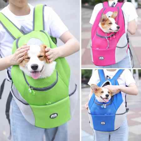 Cat pet dog chest bag travel backpack shoulder bag Teddy out portable cages cat out strap tank