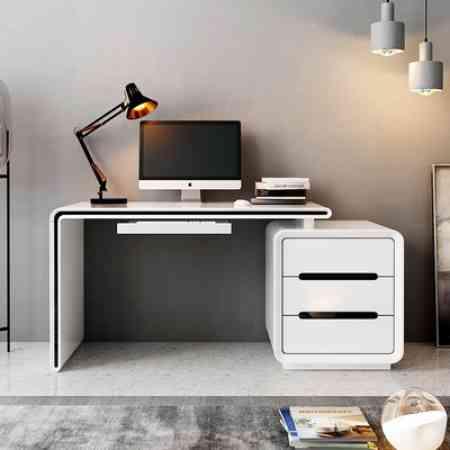 One desktop computer desk desk desk desk bedroom home computer desk student desk bookcase combination