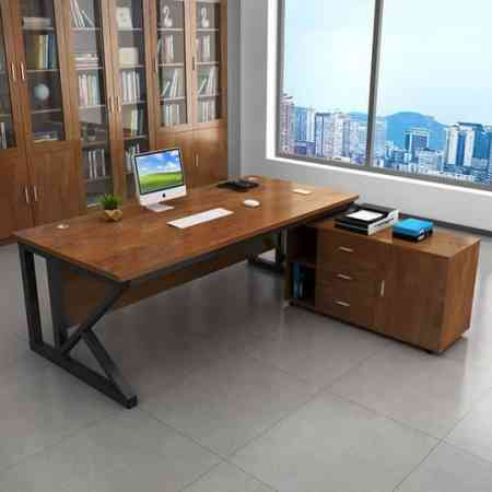 Tables and chairs boss in charge of the office desk modern minimalist single desk computer desk office desk Commercial fashion