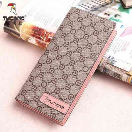 Woodpecker new wallet female long section wallet wallet 20 fold wallet fashion handbags Korean version of the tide thin section