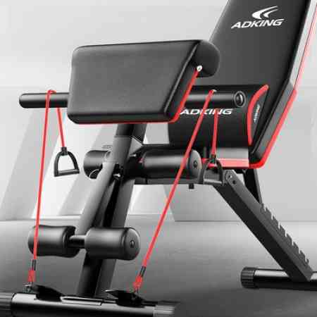 Dumbbell bench sit-ups fitness equipment home male auxiliary multifunctional abdominal muscle board fitness chair bird bench press