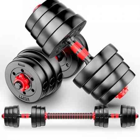 Dumbbell men's fitness household weight thin beginner 20kg30 kg barbell adjustable exercise Ya Ling pair