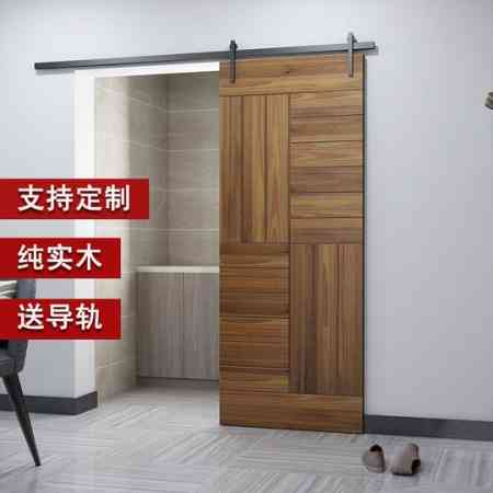 Nordic interior doors bedroom kitchen toilet partition doors barn door sliding track doors solid wood doors sliding doors custom doors