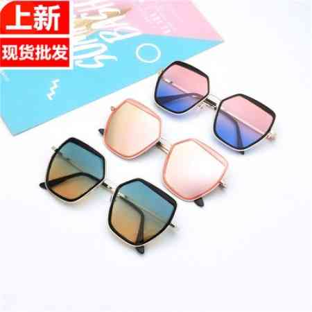 Ms. sunglasses 2020 new explosion models ocean piece ins network camera shopping sunglasses over 88 shipping