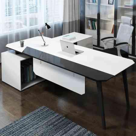 Office furniture combination desk office desk minimalist modern president in charge of office furniture desk desk manager, boss desk