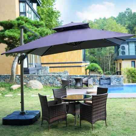 Outdoor umbrellas Roman umbrellas outdoor umbrellas courtyard outdoor umbrellas balcony villa terrace stall garden large sun umbrella