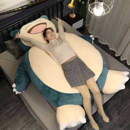 Kabi beast doll huge pillow plush toy Pokémon oversized doll birthday gift girl sleeping cute