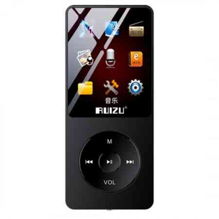 Rui's keyboard small portable mp3 music player mp4 walkman student ultra-thin card p3 comes with memory to read novels