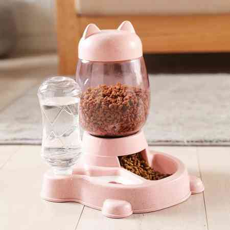 Automatic cat feeder combo body dog drinking fountains cat food bowl cat food bowl cat bowl pet supplies artifact