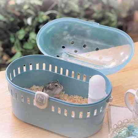 Alice IRIS portable color hamster cage Outing small animal cage Resin small animal cage HQ-250