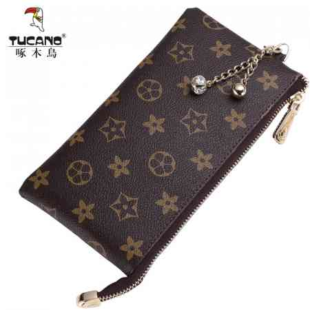 Woodpecker multi-function long wallet female zipper bag female business clutch bag lady mobile phone bag hand bag