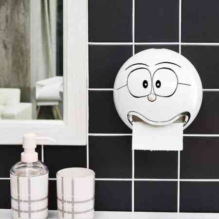 Creative toilet toilet toilet toilet sucker punch free health carton box pumping tissue box holder reel spool