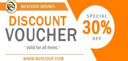 30% Off Discount Voucher