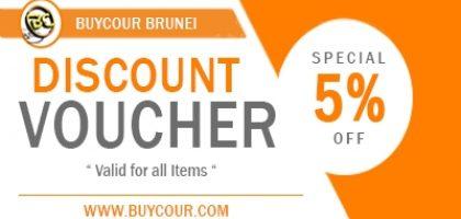 5% Off Discount Voucher