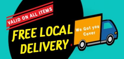 FREE LOCAL HOME DELIVERY