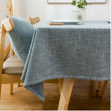 Nordic solid color tablecloth cloth art cotton linen simple small fresh rectangular linen Japanese tea table cloth tablecloth