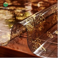 Soft glass table mat, tea table mat, plastic PVC crystal board, Nordic waterproof, oil proof, wash free, scald proof and heat insulation tablecloth