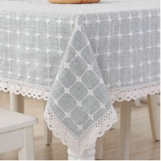 Cotton cloth square table cloth tablecloths home modern minimalist Nordic square table cloth tablecloth rectangular coffee table